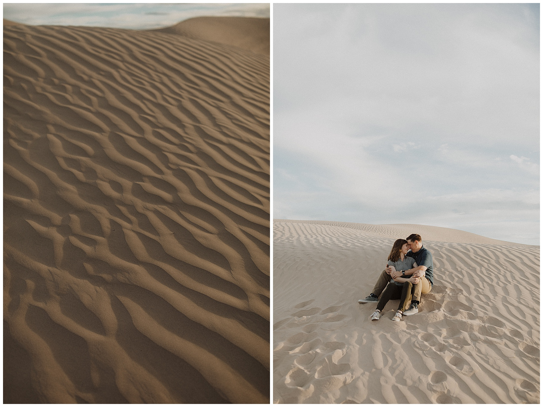 Sand dune engagements in Utah